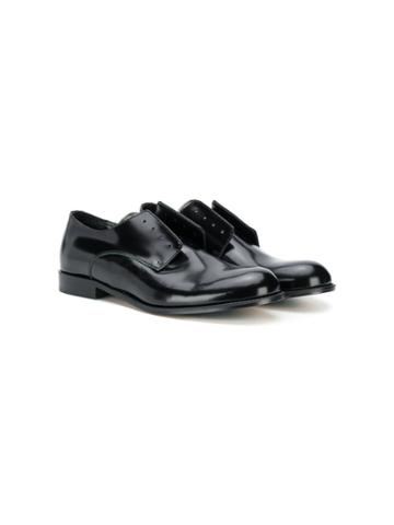 Dsquared2 Kids Teen Laceless Derby Brogues - Black