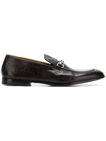 Doucal's Almond Toe Loafers - Brown