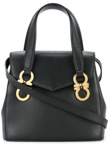 Salvatore Ferragamo Vintage Gancini Mini 2way Bag - Black