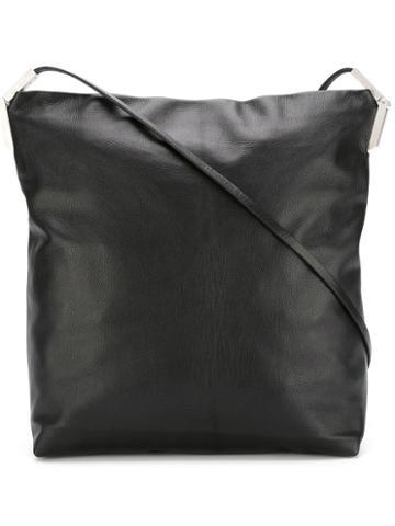 Rick Owens Adri Crossbody Bag, Women's, Black, Goat Skin/cotton