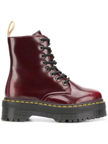 Dr. Martens Dr. Martens 22563600 Cherry Red Leather/fur/exotic