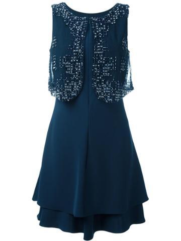 Armani Collezioni Embellished Dress