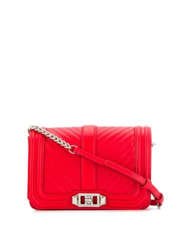 Rebecca Minkoff Small Nappa Crossbody Bag - Red