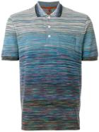 Missoni Gradient Stripe Polo Shirt - Multicolour