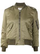 Saint Laurent Cropped Bomber Jacket