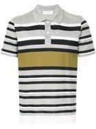 Cerruti 1881 Multi-stripe Polo Shirt - Grey