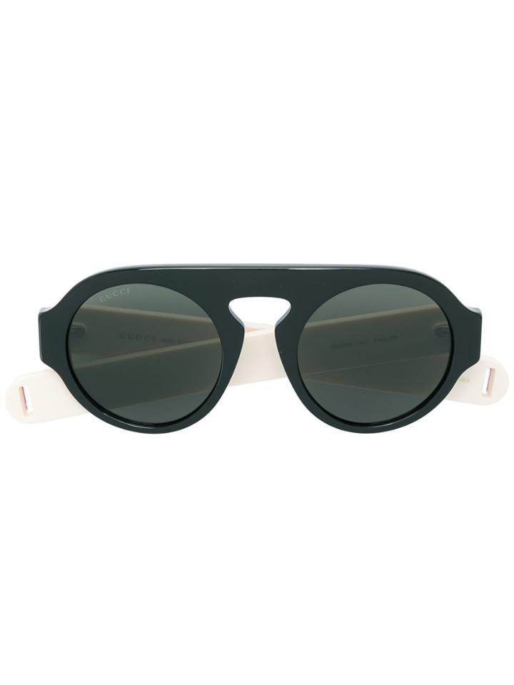 Gucci Eyewear Aviator-style Sunglasses - Black