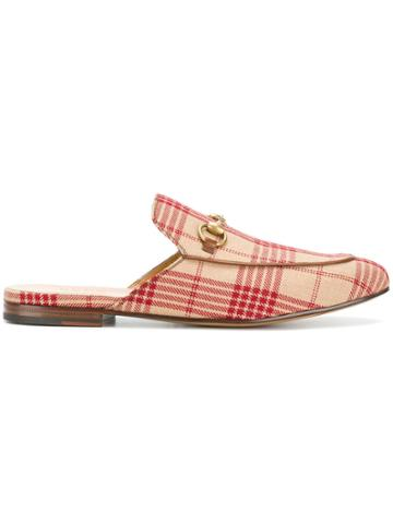 Gucci Princetown Slippers - Neutrals