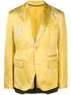 Haider Ackermann Patterned Blazer - Yellow