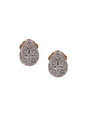 Sara Weinstock 18kt Rose Gold Reverie Pear Cluster Diamond Sud