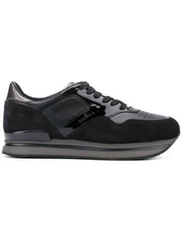 Hogan Side Logo Sneakers - Black