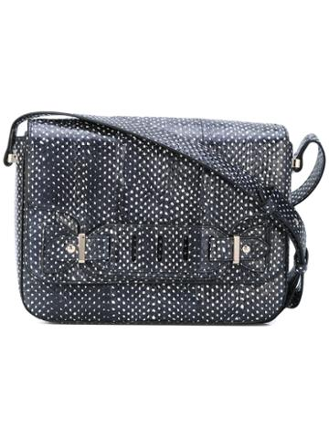 Tila March - Susan Shoulder Bag - Women - Watersnake Skin/leather - One Size, Black, Watersnake Skin/leather