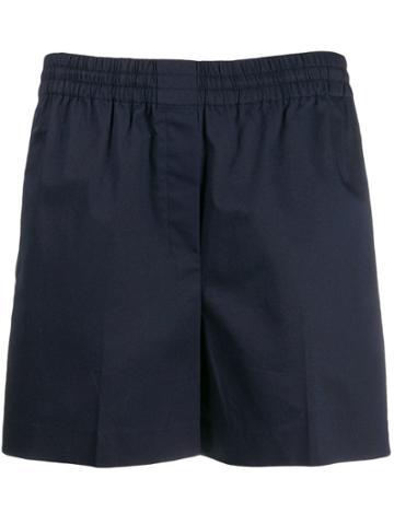 Theory Plain Short Shorts - Blue