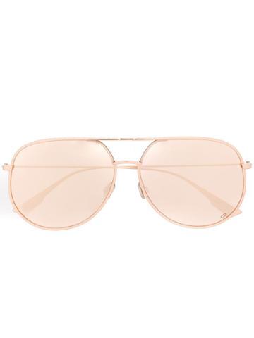 Dior Eyewear Dior By Dior Sunglasses - Gold