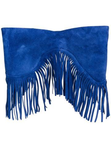 Jacquemus Fringed Belt - Blue