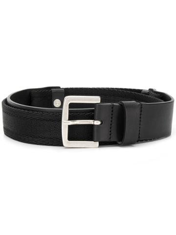 Diesel Bi-colour Belt - Black