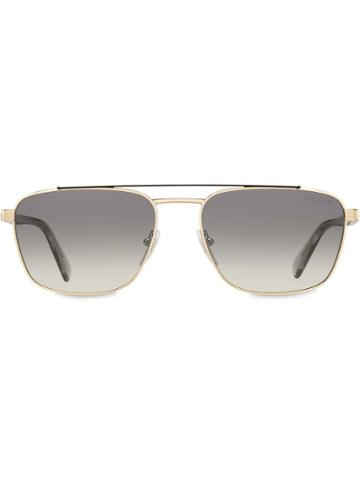 Prada Eyewear Prada Game Eyewear Sunglasses - Metallic