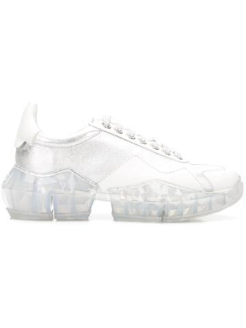 Jimmy Choo Diamond Sneakers - White