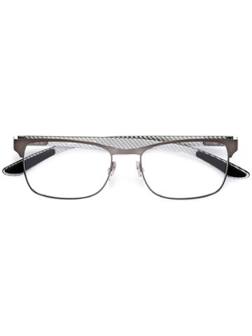 Ray-ban Square Frame Glasses, Grey, Carbon