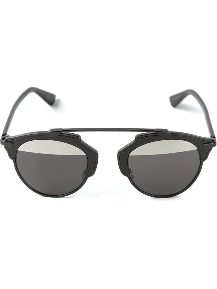 Dior Eyewear 'so Real' Sunglasses, Women's, Black, Acetate