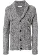 Etro Cable Knit Cardigan - Grey