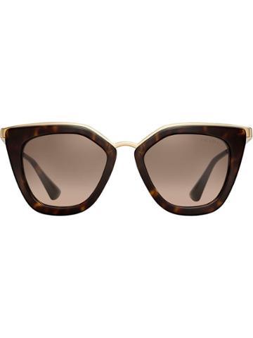 Prada Eyewear Prada Cinéma Eyewear - Brown