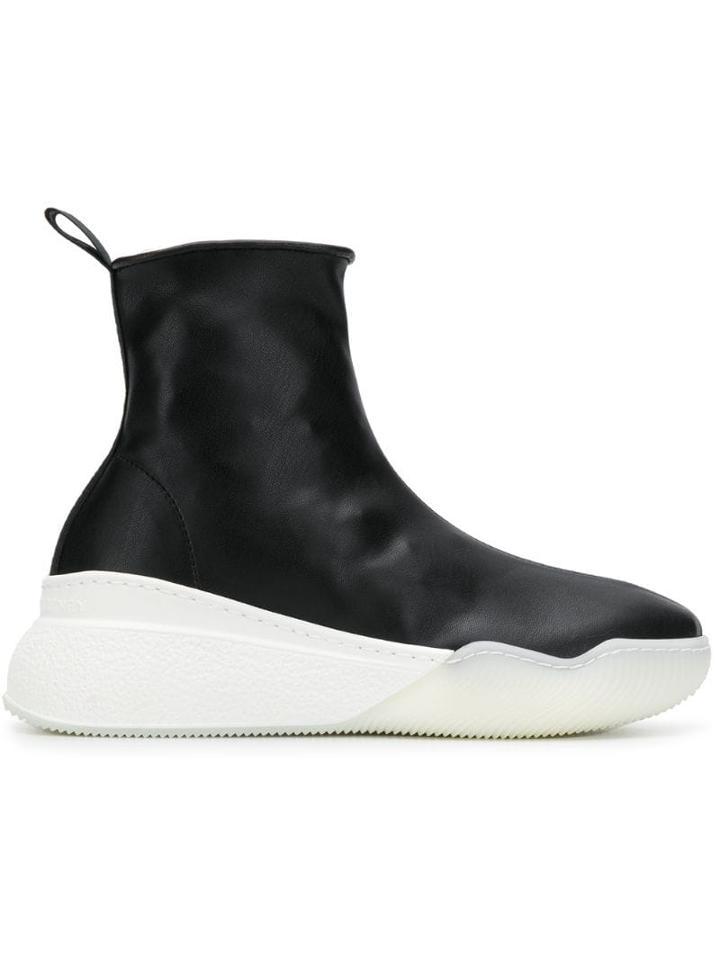 Stella Mccartney Platform Sock Sneakers - Black