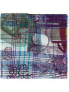 Etro Printed Woven Scarf