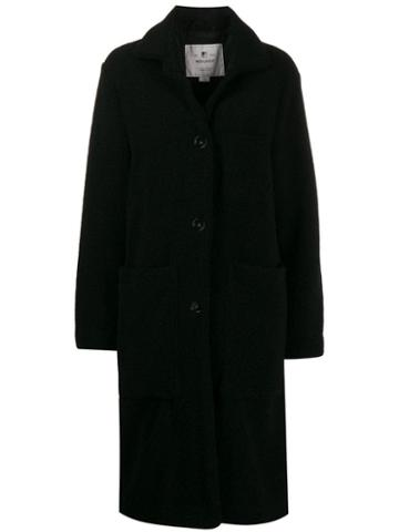 Woolrich Shearling Coat - Black