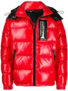 Philipp Plein 20th Anniversary Puffer Jacket - Red