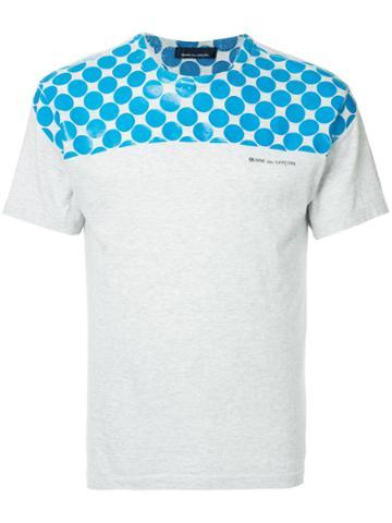 Comme Des Garçons Vintage Polka Dot T-shirt - Grey