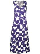 Bellerose Printed Maxi Dress - Blue