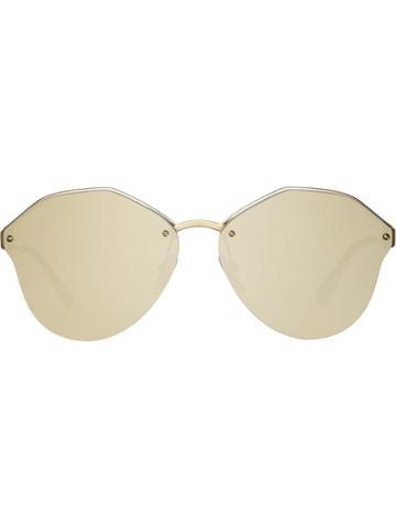 Prada Eyewear Prada Cinéma Eyewear Sunglasses - Metallic