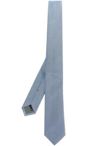 Jil Sander Woven Tie - Blue