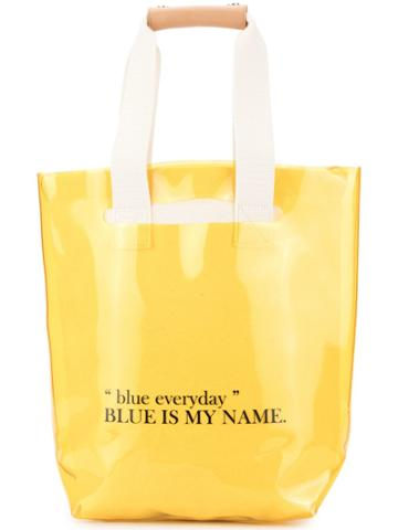 Sjyp Two Way Tote Bag - Yellow