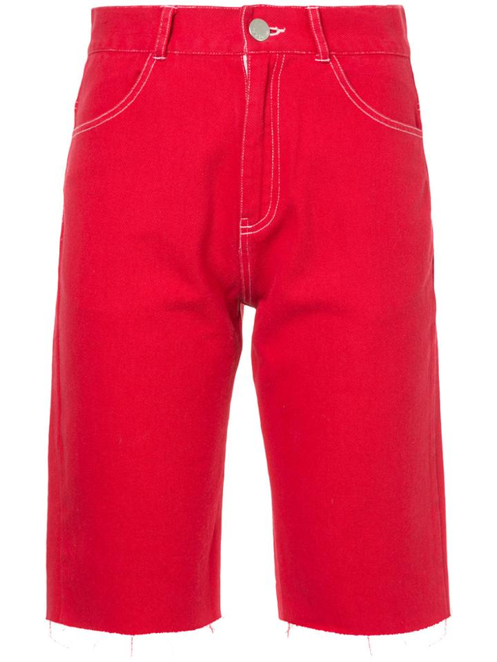 Vale Cruise Shorts - Red