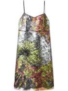 Rochas Lace Overlay Shift Dress