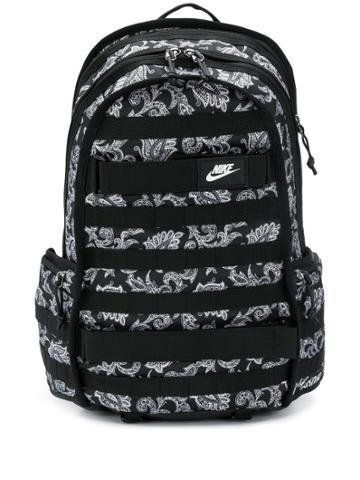 Nike Paisley Print Backpack - Black