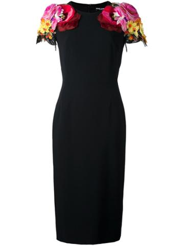 Dolce & Gabbana Floral Shoulders Dress