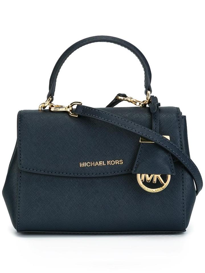 Michael Michael Kors Micro 'ava' Crossbody Bag, Women's, Blue