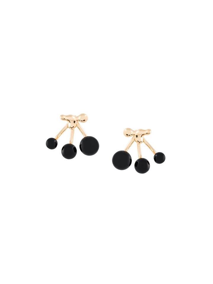 Eshvi Resin Beaded Earrings