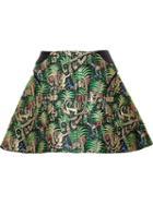 Delpozo A-line Jacquard Skirt