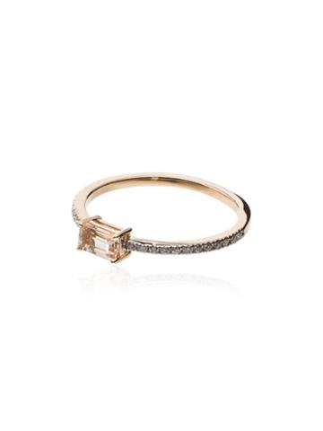 Mateo Morganite And Gold Ring