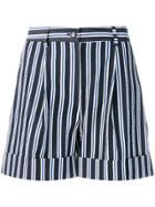 P.a.r.o.s.h. Casual Striped Shorts - Blue