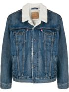 Levi's Lined Trucker Jacket - Blue