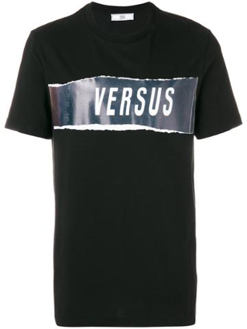 Versus - Zayn X Versus Logo Graphic T-shirt - Men - Cotton - S, Black, Cotton