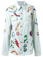 Isabela Capeto Embroidered Denim Shirt