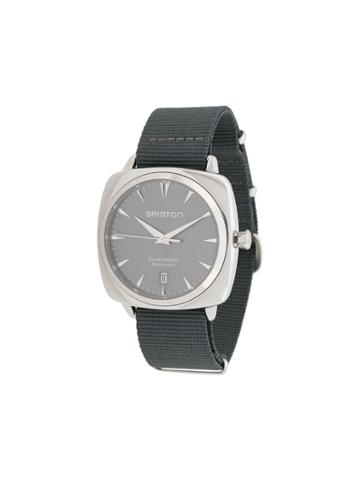 Briston Watches Clubmaster Iconic Steel Watch - Grey