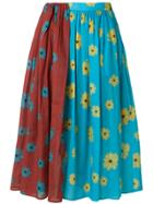 Neul Floral Print Skirt - Multicolour