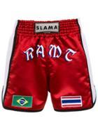 Amir Slama Boxing Shorts - Red